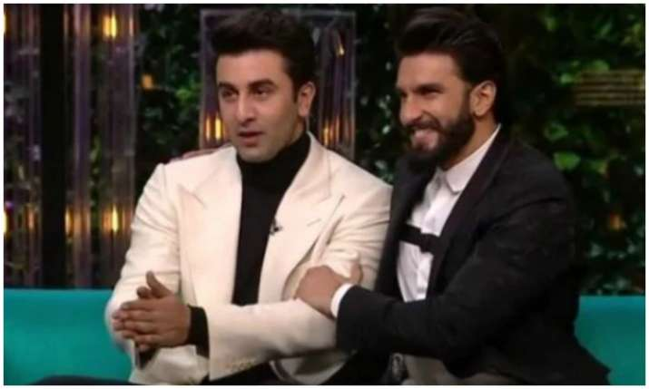 Ranveer singh and Ranbir kapoor- India TV