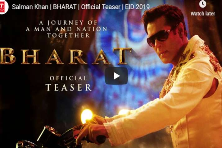 bharat teaser relased- India TV