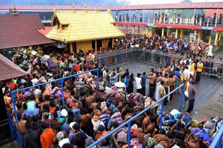 Sabarimala: 2 women devotees blocked by protesters, violence breaks out- India TV