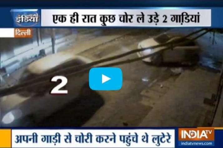 दिल्ली में एक ही रात...- India TV