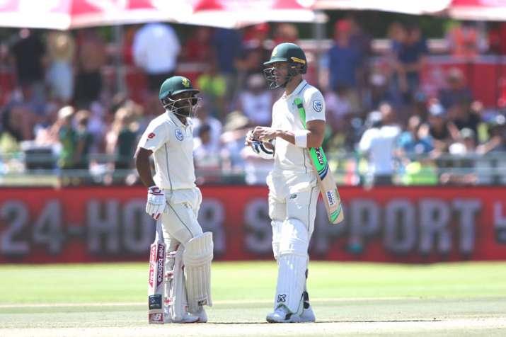 दक्षिण अफ्रीका को लगा बड़ा झटका, आईसीसी ने कप्तान डु प्लेसिस को किया सस्पेंड - India TV