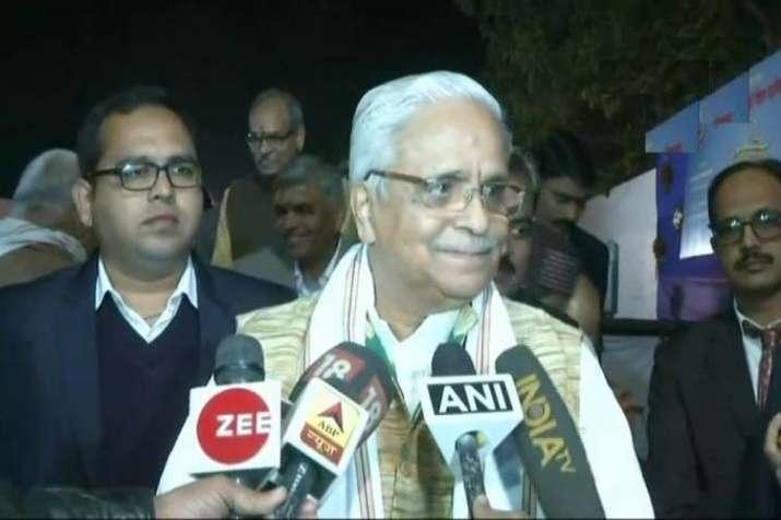 Senior RSS leader Bhaiyaji Joshi - India TV