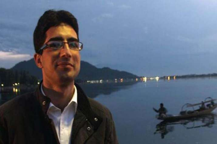 Shah Faesal who resigned from IAS- India TV
