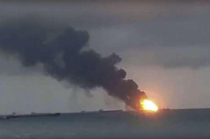 Ship Fire- India TV