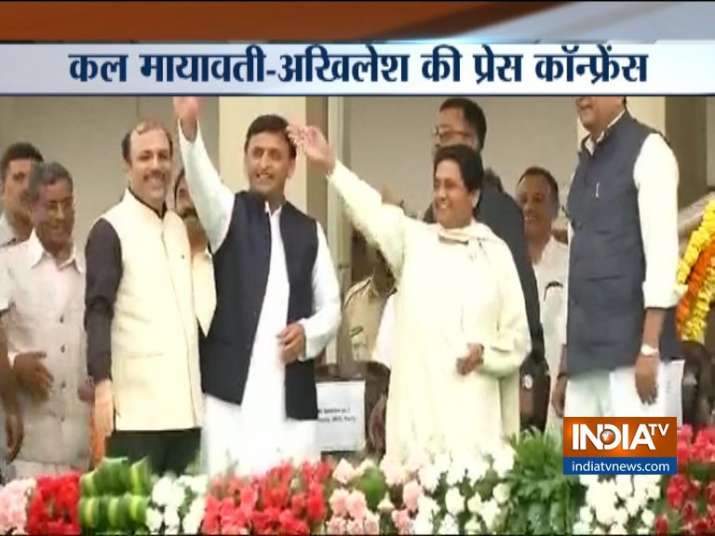 SP BSP- India TV