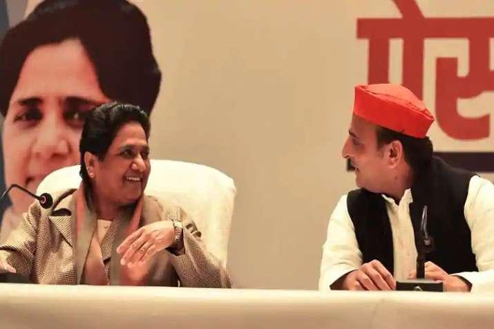 SP MLA Hariom Yadav's tatement on SP-BSP alliance- India TV