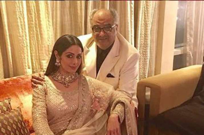 Boney Kapoor, Sridevi - India TV