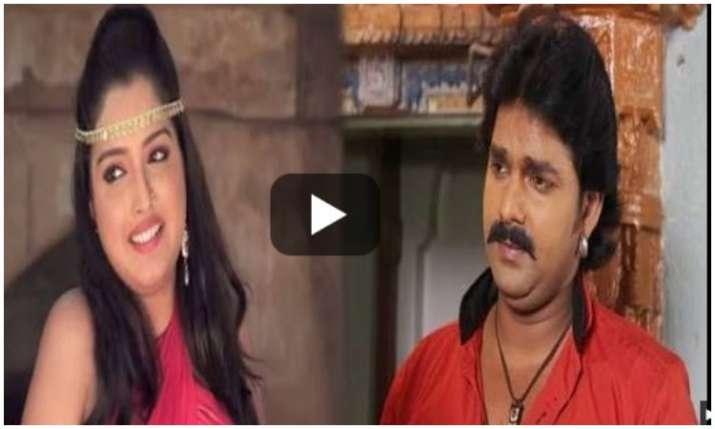 Pawan Singh and Amrapali Dubey - India TV