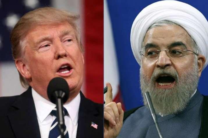 Donald Trump and Hassan Rouhani - India TV