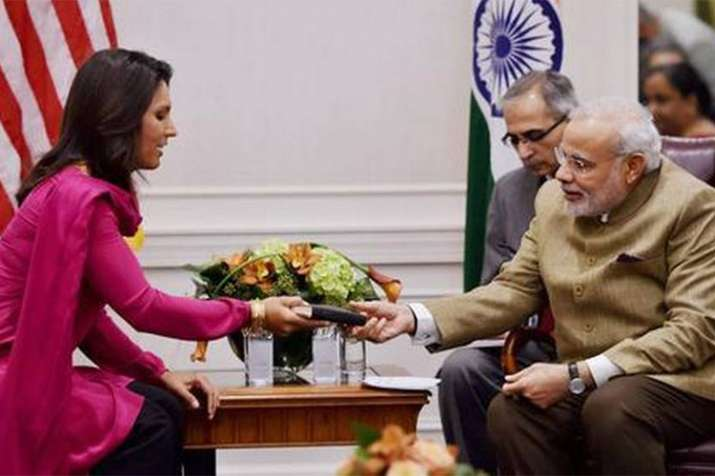 I have been accused of being a Hindu nationalist, says US presidential aspirant Tulsi Gabbard- India TV