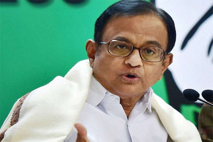 P Chidambaram - India TV