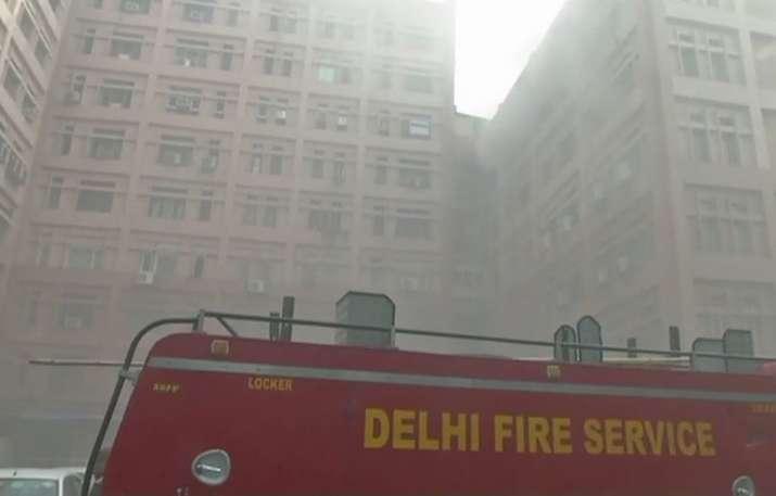 Fire CGO Complex- India TV