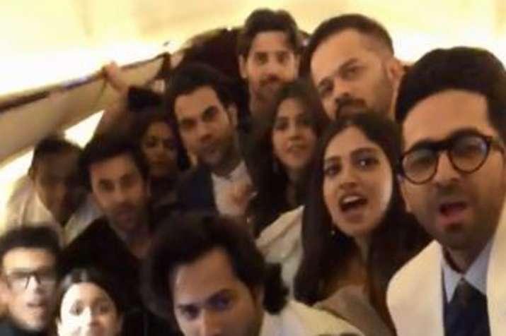 Ranbir Kapoor Alia Bhatt Ranveer Singh and many more stars promte Vicky Kaushal Uri watch video- India TV