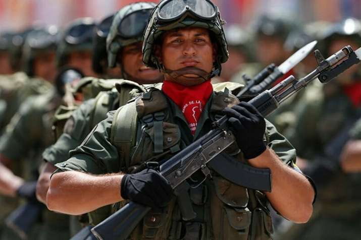 Venezuelan army declares loyalty to Maduro, will defend national sovereignty | AP File- India TV