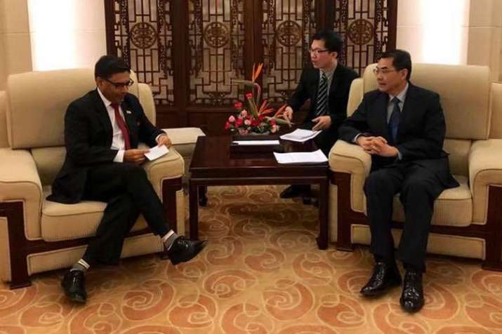 Vikram Misri takes charge as India's new envoy to China | Facebook- India TV