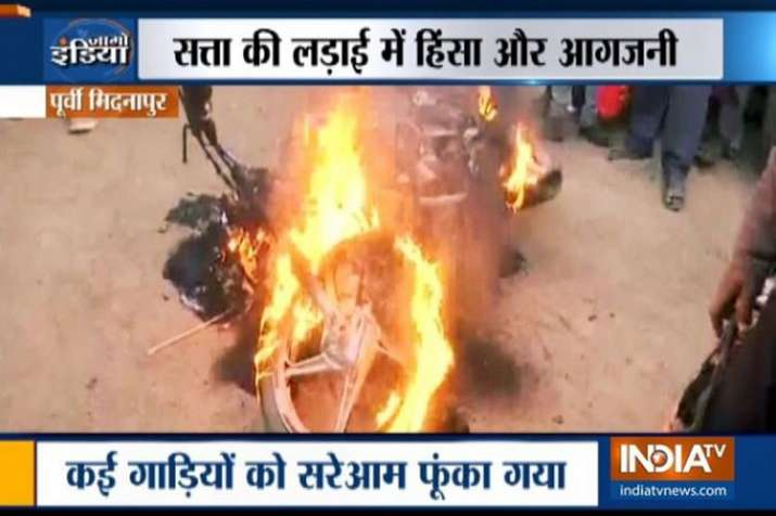 Lok Sabha Polls 2019: Political temperature soars in West Bengal post Amit Shah's Midnapore rally- India TV