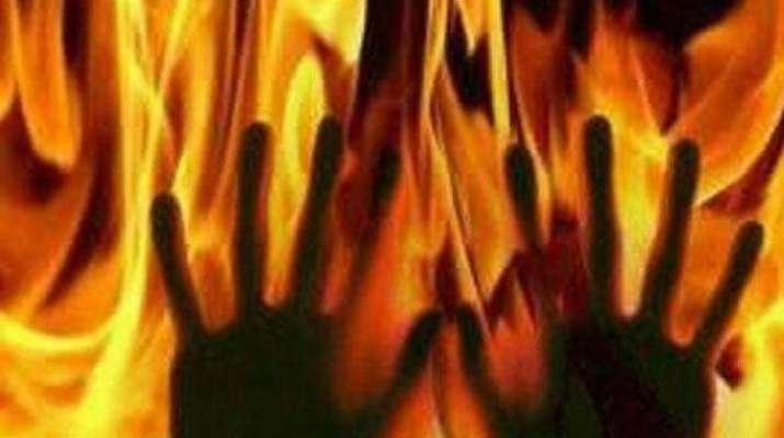 burnt alive- India TV
