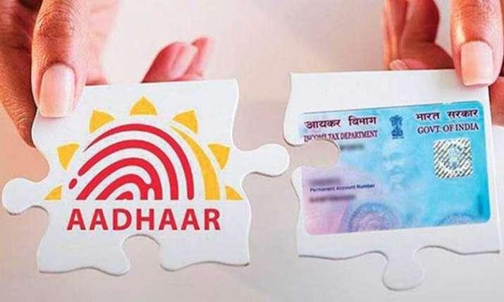 Aadhaar pan link- India TV Paisa