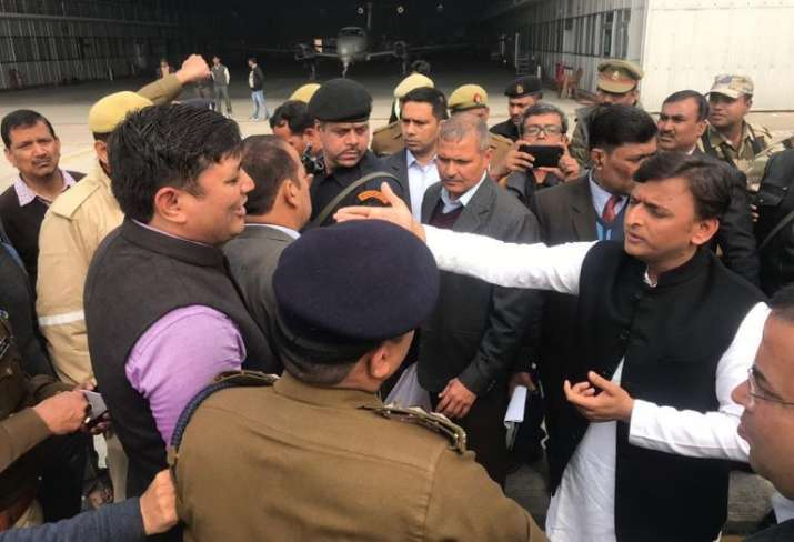Akhilesh Yadav says stopped at Lucknow airport to prevent him from attending Allahabad event - India TV