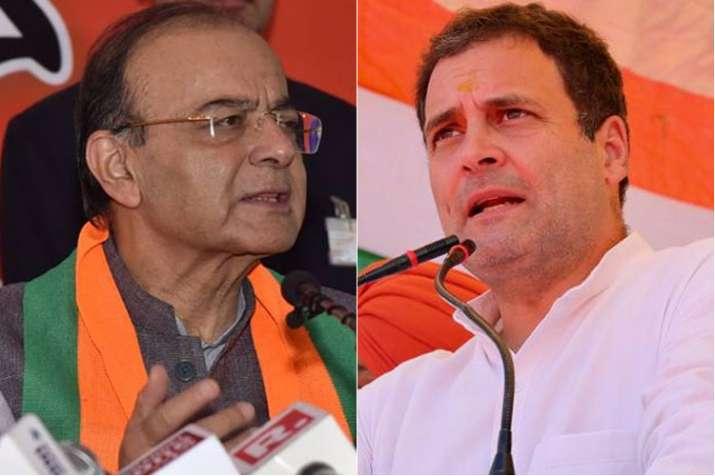 बरेली के 'निकाह-हलाला' केस का जिक्र कर कांग्रेस पर जमकर बरसे जेटली, राहुल पर साधा निशाना | Facebook- India TV