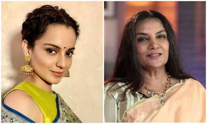 Shabana Azmi and kangana Ranaut- India TV