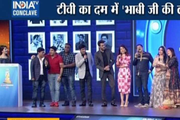 TV Ka Dum Bhabhi Ji Ghar Par Hai star cast talks about comedy shows- India TV