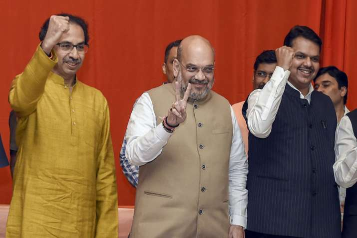 Shah-Thackeray seal the deal; BJP to fight on 25 seats...- India TV