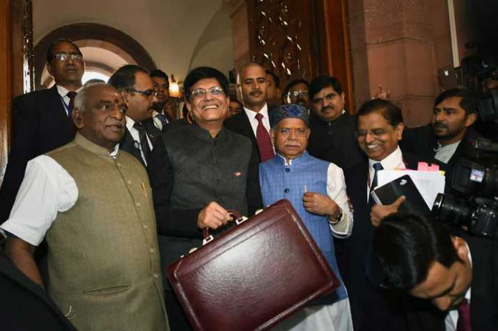 Finance Minister Piyush Goyal- India TV Paisa