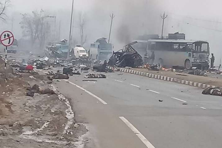 Pulwama Terror Attack Latest news in hindi- India TV