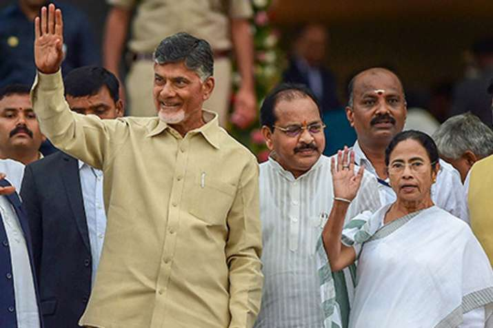 Mamata extends support to Andhra CM Chandrababu Naidu's one-day fast at Delhi | PTI File- India TV