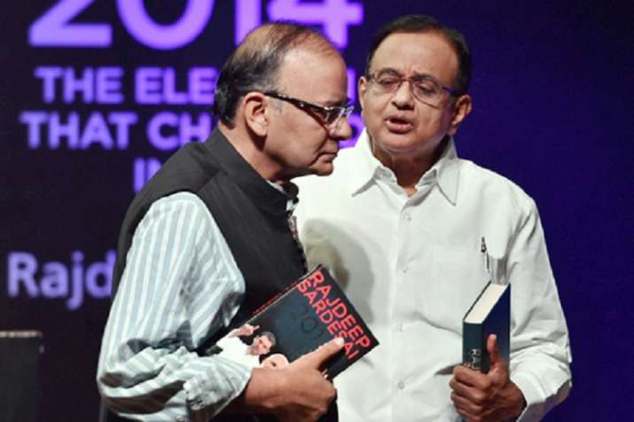 P chidambaram taunts on arun Jaitley (File Photo)- India TV