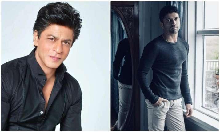 Shahrukh khan and farhan akhtar- India TV