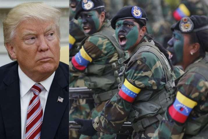 Donald Trump urges Venezuelan military to desert 'Cuban puppet' Maduro   AP File- India TV