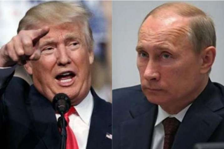 US President Donald Trump and Russian President Vladimir Putin | AP File- India TV