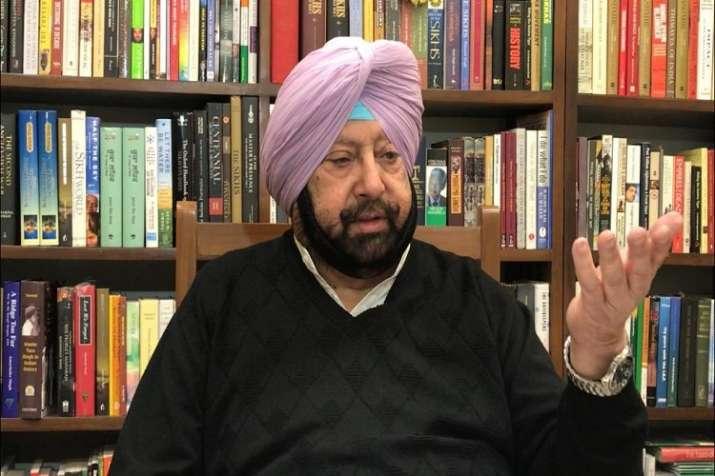 Punjab CM Captain Amarinder Singh- India TV