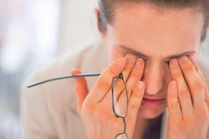 eye problem- India TV