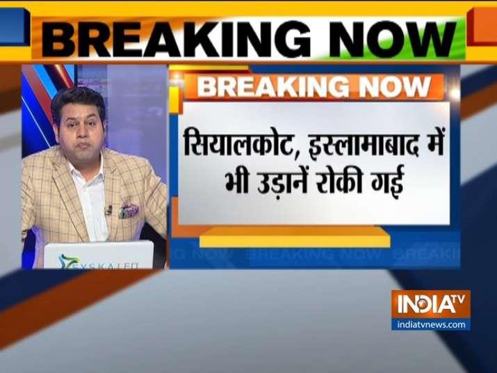 Pakistan immediately stops its domestic and international flight operations- India TV