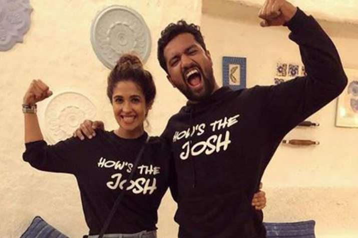 Vicky Kaushal confirms his relationship with Harleen Sethi- India TV