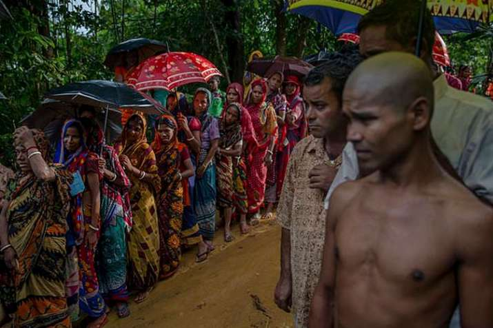 Bangladesh seals border with Myanmar following fresh influx of Hindu and Buddhist refugees | AP File- India TV