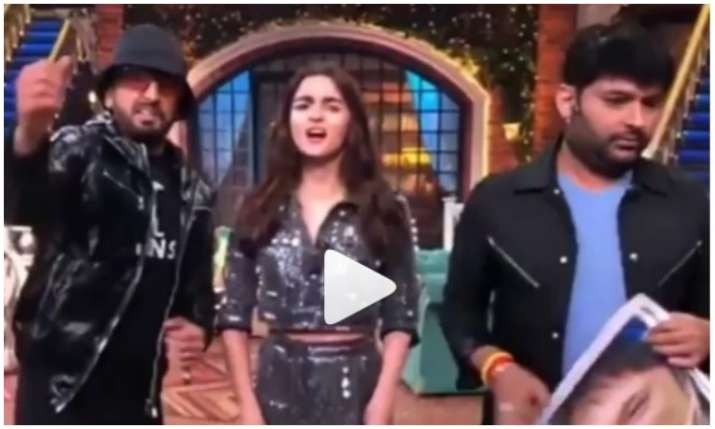 Viral video of the kapil sharma show- India TV