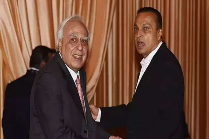 BJP lashes out at Congress after Kapil Sibal defends Anil Ambani's company in court- India TV