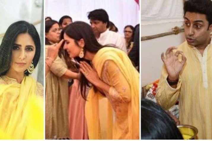 Abhishek Bachchan, Katrina Kaif and other celebs attend Anurag Basu's Saraswati Puja celebration - India TV