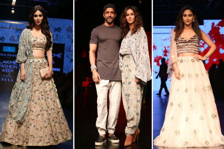 Lakme fashion week mouni roy- India TV