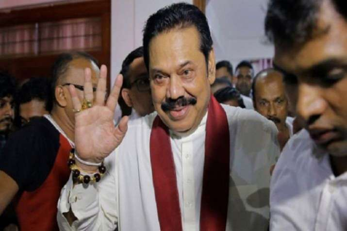 Mahindra Rajapaksa- India TV