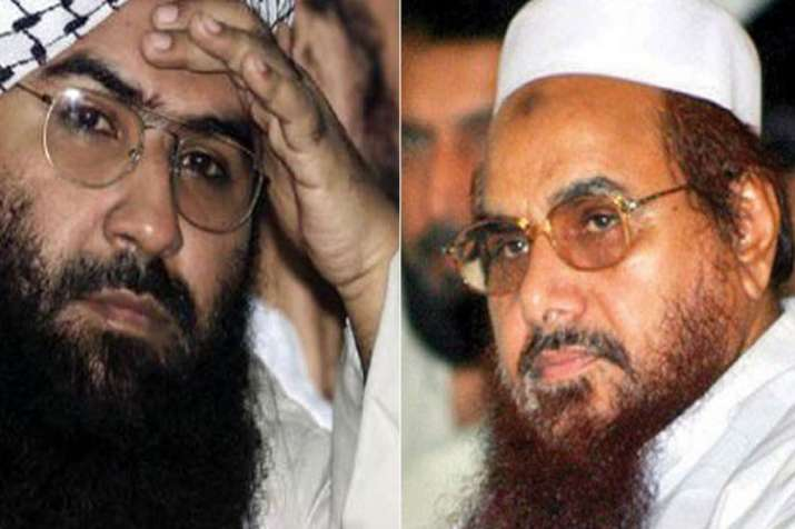 Pakistan Army has asked to Masood Azhar and Hafiz saeed to be low profile and less public appearance- India TV