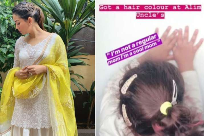 Mira Rajput reacts on trolls over colouring daughter Misha's hair- India TV