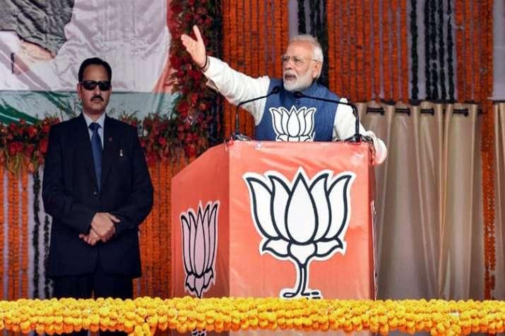 पीएम मोदी ने विपक्षी गठबंधन पर कहा, जनता को 'महामिलावट' से सावधान रहना चाहिए- India TV