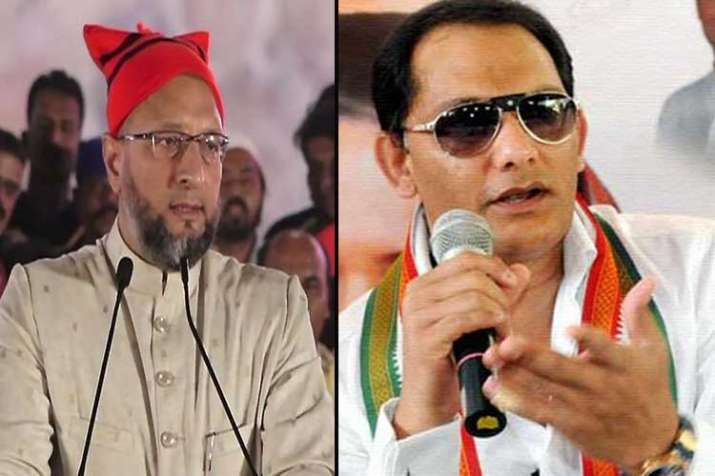 Azharuddin may pad up to take on Asaduddin Owaisi in...- India TV