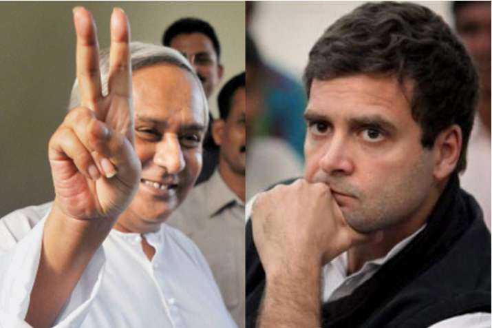 Naveen Patnaik and Rahul Gandhi | PTI File Photos- India TV