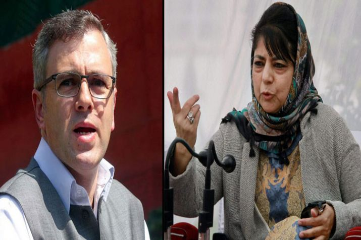Omar abdullah and mehbooba Mufti- India TV